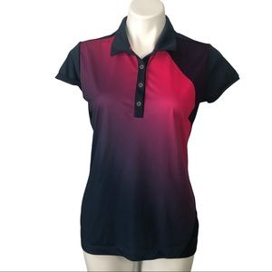 Nike Golf Tour Performance Dri Fit Ombre Polo, M